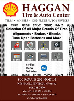 Haggan Tire & Auto Center | KnowThisPlace - Hunterdon County ... on u.s. route 40 in new jersey, road map of new jersey, route 80 nj exits list,